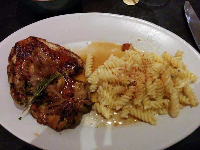 Roasted Chicken and Mac and Cheese